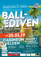 Bischöfliches Gym St. Ursula Maturaball 2019 - Referenzen - MeinMaturaball.at